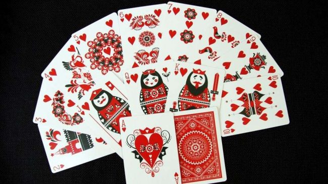 Самые популярные в России карточные игры