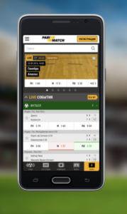 приложение parimatch